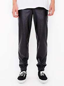 Vegan Leather Billionaire Pant