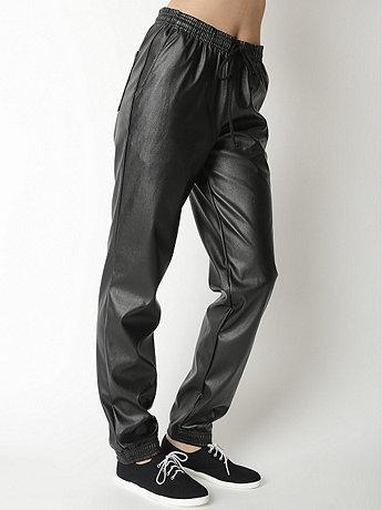 Unisex Vegan Leather Billionaire Pant