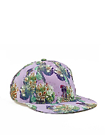 Sarah Rara Printed 6 Panel Hat