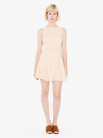 Ponte Sleeveless Skater Dress