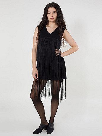 Ponte Fringe Dress