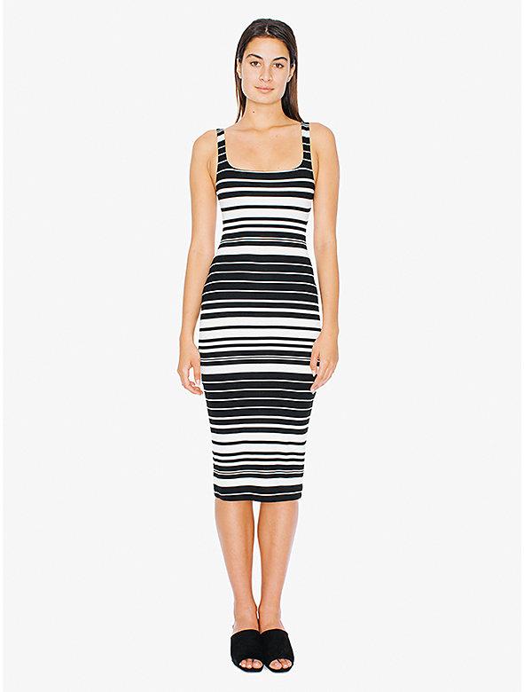 Printed Ponte Tank Dress