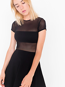The Fiona Ponte Skater Dress