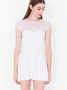 Ponte Sweetheart Skater Dress