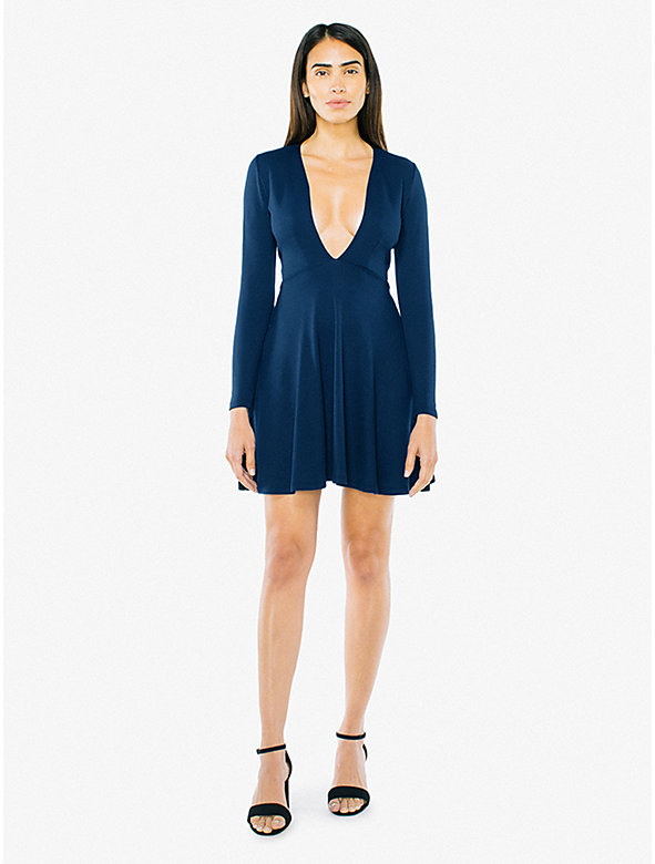 7700936dca Ponte Long Sleeve Mini Dress