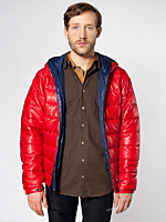 Reversible Hooded Poly-Fill Jacket