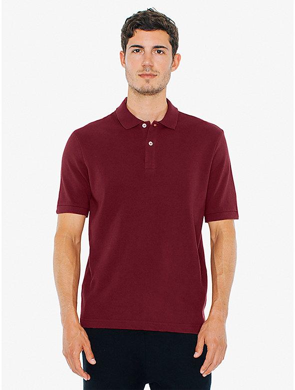 Piece-Dye Pique Polo Shirt