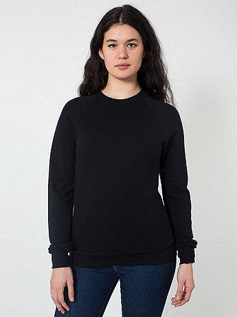Unisex Piqué Raglan Pullover