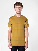 Pinstripe Jersey Short Sleeve T-Shirt