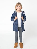 Kids Flannel-Lined Rain Parka