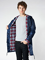 Flannel-Lined Rain Parka