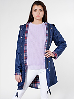 Unisex Flannel-Lined Rain Parka