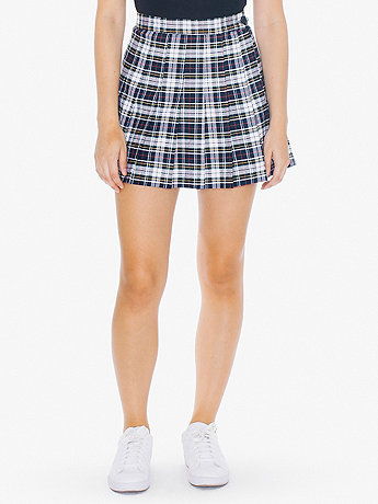 Plaid Tennis Skirt