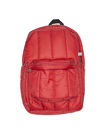 Quilted Polyester Backpack