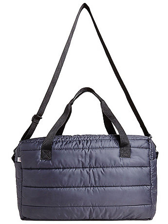 Quilted Polyester Duffle Bag
