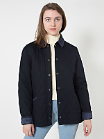 Unisex Quilted Twill Jacket