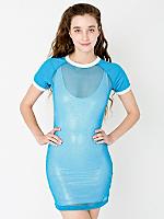 Mesh Raglan Dress