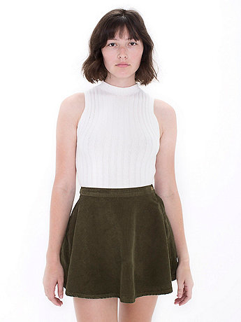 Corduroy Circle Skirt