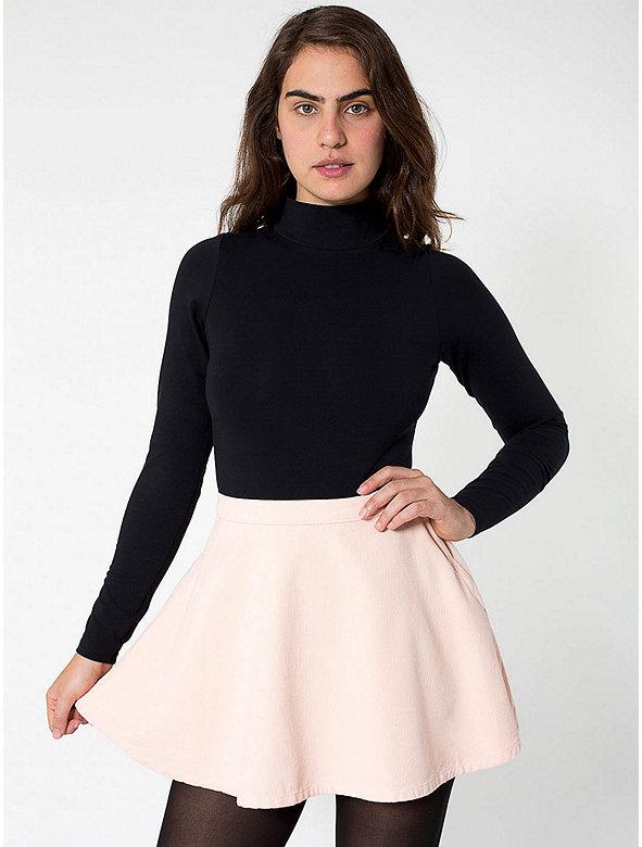 Corduroy Circle Skirt