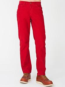 Straight Leg Cord Pant