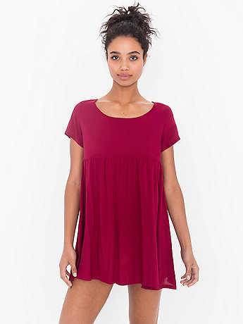 Rayon Babydoll Dress