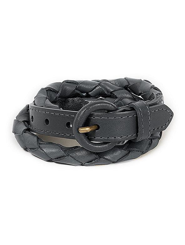 Unisex Leather Rope Belt