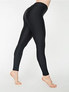 Rib Nylon Spandex Legging