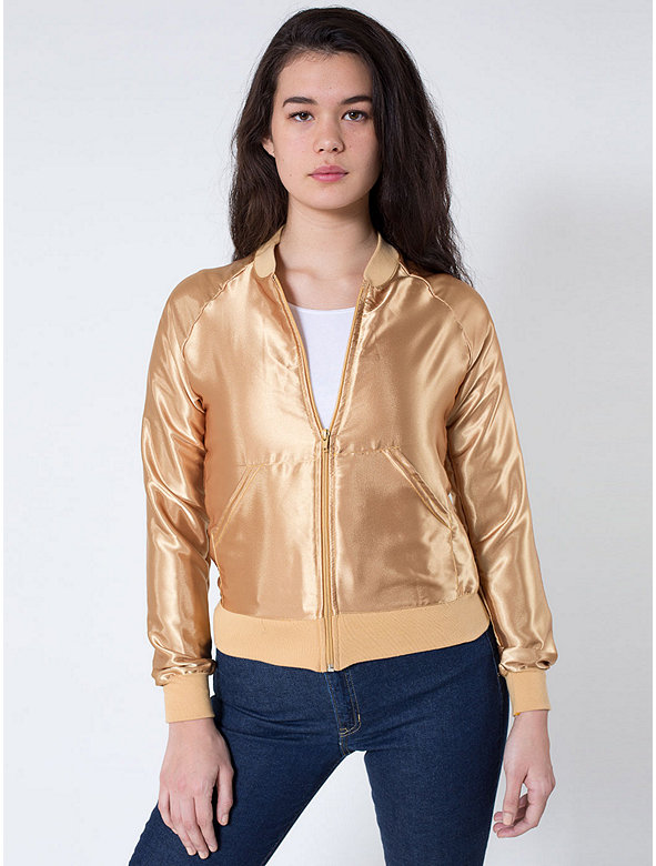 Unisex Satin Charmeuse Night Jacket