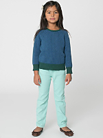 Kids Stretch Bull Denim Slim Slack
