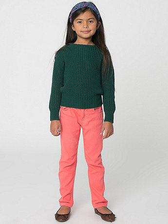 Kids' Stretch Bull Denim Slim Slack