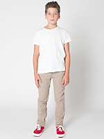 Youth Stretch Bull Denim Slim Slack