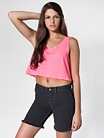 Unisex Stretch Bull Denim Cut-Offs