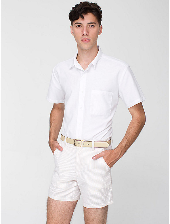 Cotton Seersucker Kennedy Short