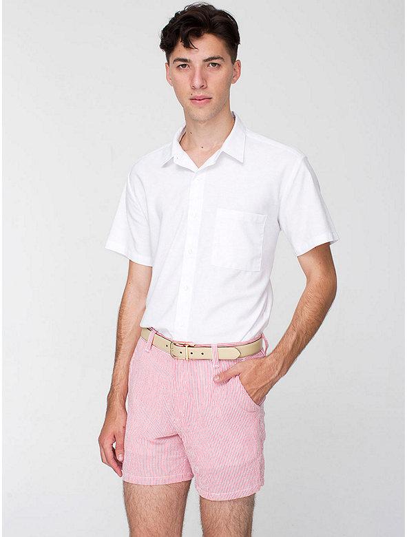 Cotton Seersucker Kennedy Short