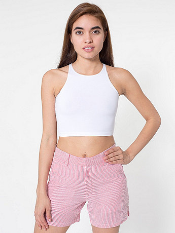 Unisex Cotton Seersucker Kennedy Short