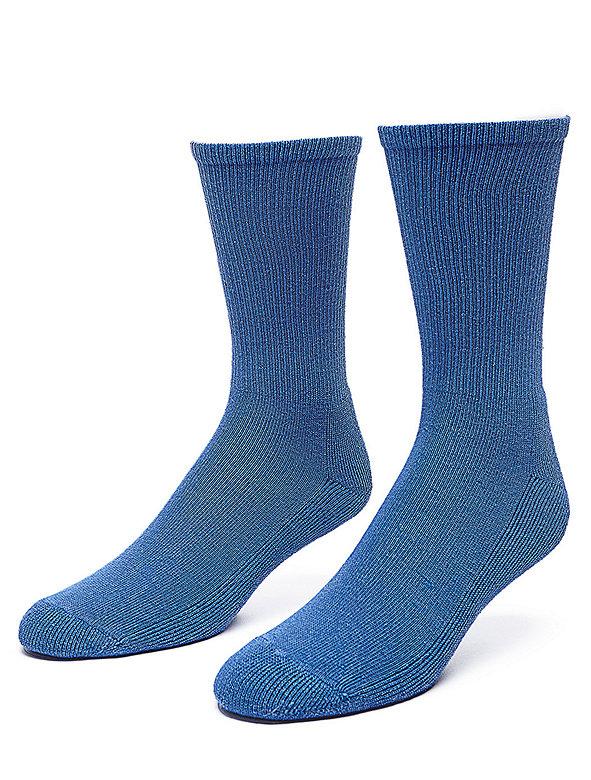 Solid Calf-High Sock