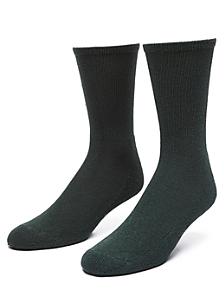 Solid Calf-High Sock