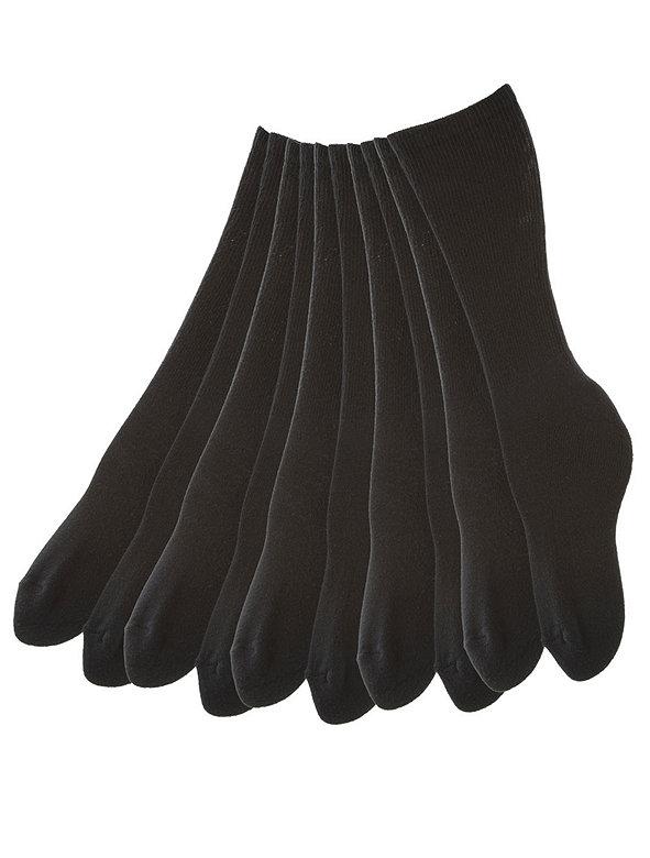 Solid Calf-High Sock (5-Pack)