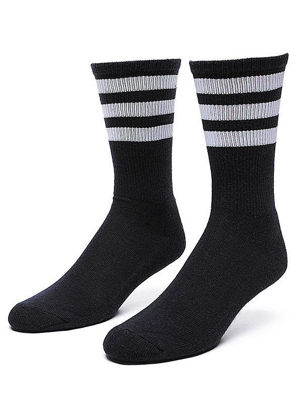 Stripe Calf-High Sock