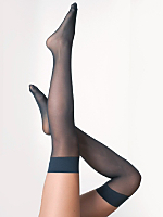 Sheer Luxe Over-the-Knee Sock