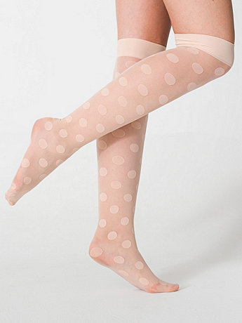 Sheer Luxe Shapes Over-the-Knee Sock