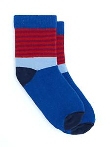 Kids' Calf High Multi-Stripe Sock