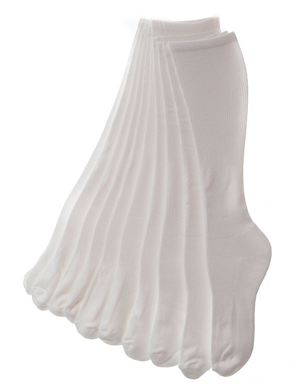 Solid Knee-High Sock (5-Pack)