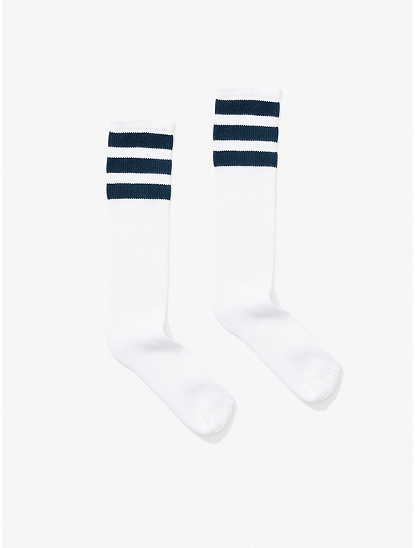 Stripe Knee-High Sock