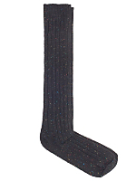 Nub Ribbed Knee-High Sock