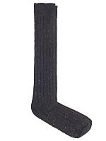 Nub Ribbed Knee-High Sock