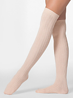 Ribbed Modal Over-the-Knee Sock