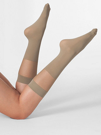 Sheer Solid Knee-High Sock