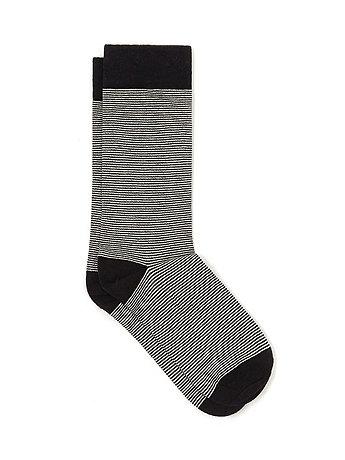 Flat Knit Pattern Sock