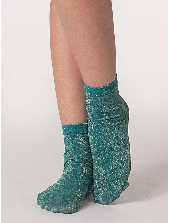 Sparkle Calf-High Sock